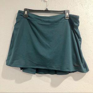 Nike | Dark Teal Tennis Skort/Skirt - Size Large